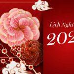 THÔNG BÁO VỀ LỊCH NGHỈ TẾT, BẢO VỆ TẾT NGUYÊN ĐÁN TÂN SỬU 2021